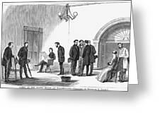 Johnson Impeachment Trial Greeting Card