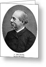Jos� Zorrilla Y Moral Greeting Card by Granger
