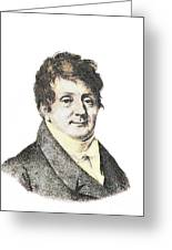 Joseph Fourier, French Mathematician Greeting Card