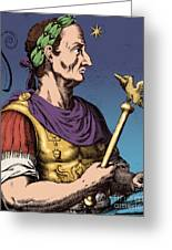 Julius Caesar, Roman General Greeting Card
