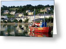 Kinsale Harbour, Co Cork, Ireland Greeting Card