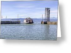 Lake Constance Friedrichshafen Greeting Card by Joana Kruse
