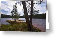 Lake Huosius At Hossa Greeting Card