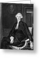 Laurence Sterne (1713-1768) Greeting Card