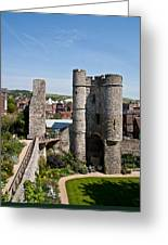 Lewes Castle Greeting Card