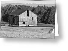 2 Line Barn 15087b Greeting Card