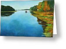 Little River Gloucester Greeting Card