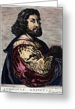 Ludovico Ariosto Greeting Card