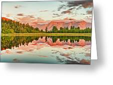 Matheson Lake Greeting Card by MotHaiBaPhoto Prints