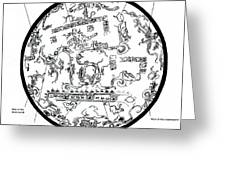 Mayan Cosmos Greeting Card by Science Source