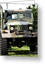 Military Truck Greeting Card by Blink Images