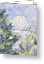 Mont Sainte-victoire Greeting Card