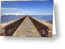 Monte Tamaro Greeting Card