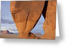 Monument Valley, Usa Greeting Card by John Burcham