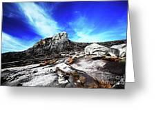Mount Kinabalu Greeting Card