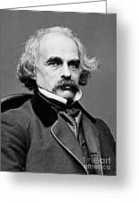 Nathaniel Hawthorne, American Author Greeting Card