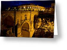 New Bridge In Ronda Greeting Card