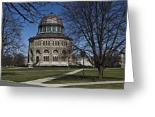 Nott Memorial Building At Union College Greeting Card