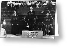 Olympic Games 1948 Greeting Card