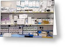 Operating Theatre Supplies Store Greeting Card