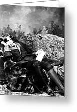 Oscar Wilde (1854-1900) Greeting Card
