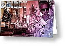 P Diddy Greeting Card