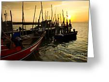 Palaffite Port Greeting Card