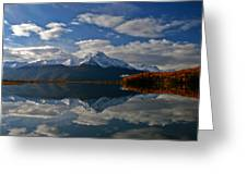 Pioneer Peak Greeting Card