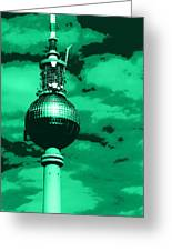 Pop Art Berlin Greeting Card by Falko Follert