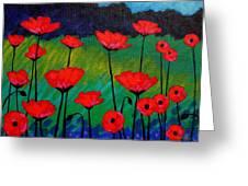 Poppy Corner Greeting Card