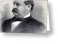 President Grover Cleveland Greeting Card by International  Images