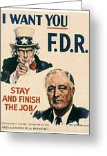 Presidential Campaign, 1940 Greeting Card