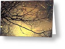 Puddle Art Greeting Card