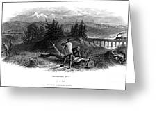 Railroad Construction Greeting Card