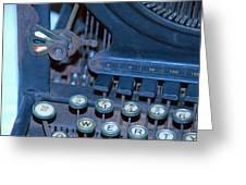 Remington 11 Detail Greeting Card
