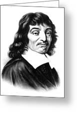 Ren� Descartes, French Polymath Greeting Card