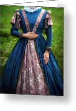 Renaissance Princess Greeting Card by Joana Kruse