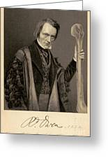 Richard Owen, English Paleontologist Greeting Card