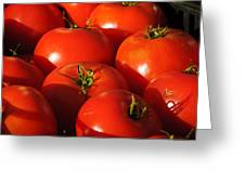 Ripe Tomatoes Greeting Card