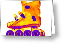 Rollerblade Boot Greeting Card