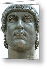 Rome Italy. Capitoline Museums Emperor Marco Aurelio Greeting Card by Bernard Jaubert
