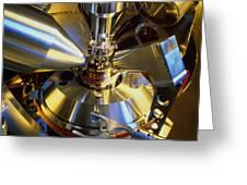 Scanning Electron Microscope Greeting Card