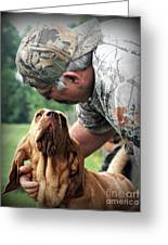 Search And Rescue Dog Greeting Card