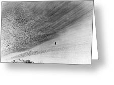Sedan Crater, Nevada Test Site Greeting Card