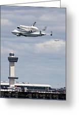 Shuttle Enterprise Greeting Card