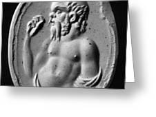 Socrates (470?-399 B.c.) Greeting Card