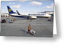 Stansted Airport Greeting Card