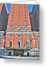 Statler Towers Greeting Card