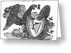 Symbols: Eagle Greeting Card