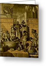 The Art Of Brewing, Babylon Greeting Card by Science Source